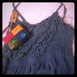 Slate blue summer dress